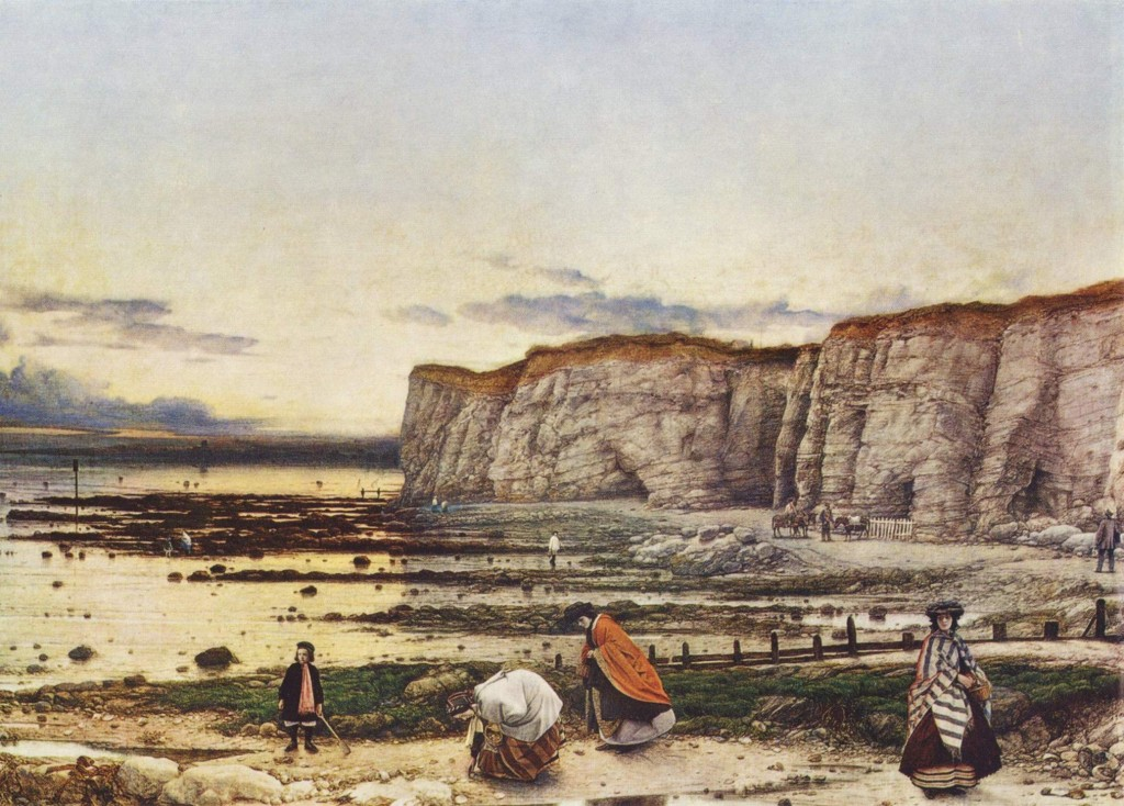 Pegwell Bay in 1858